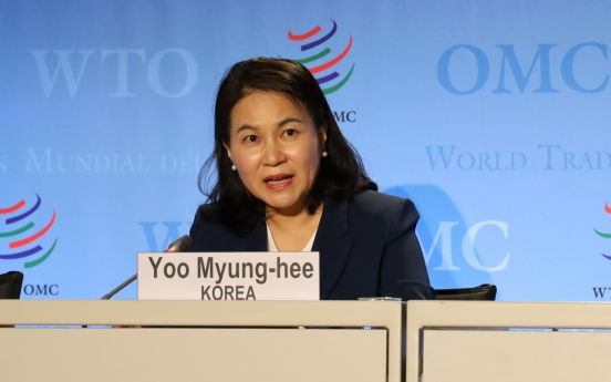 S. Korea asks Canada to support Seoul minister's bid for WTO chief