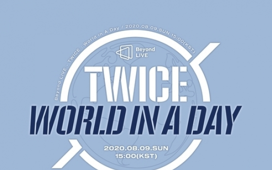 TWICE to hold online concert next month via Beyond Live platform