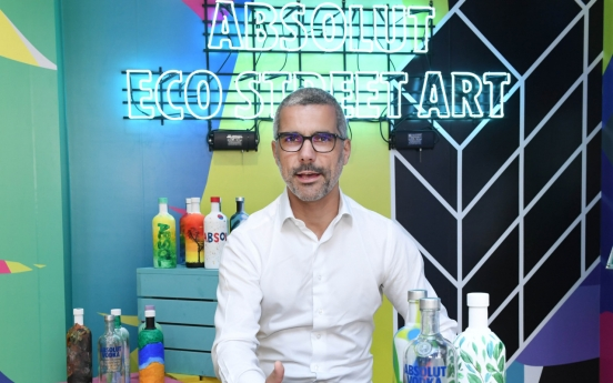 [Herald Interview] Absolut blends art, tech to reduce air pollution