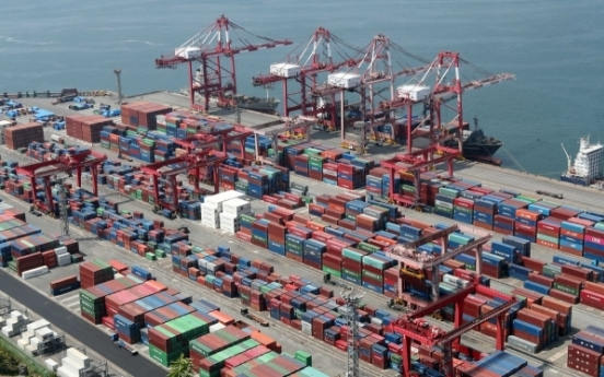 S. Korea's exports drop 12.8% in first 20 days of July