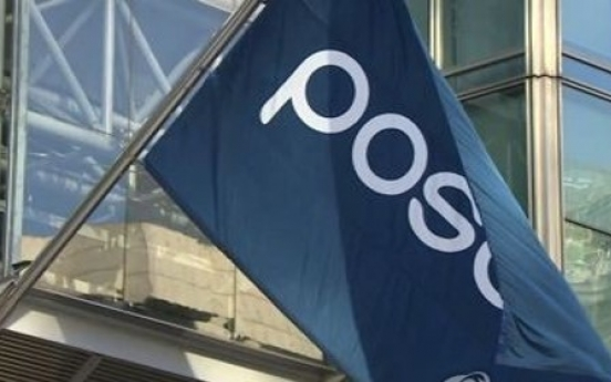 Posco's quarterly earnings plunge as steel demand falls