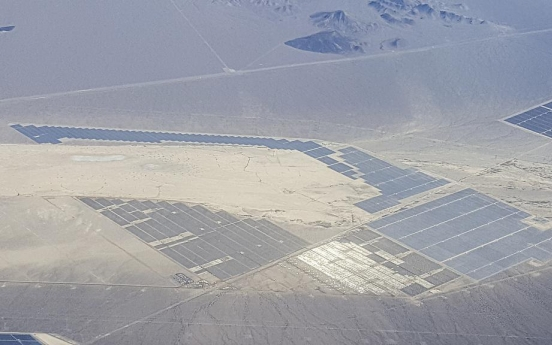 Hanwha Energy, Korea Midland Power win mega solar power deal in Nevada
