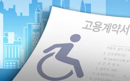 Only one-third of disabled people in S. Korea had jobs in 2019