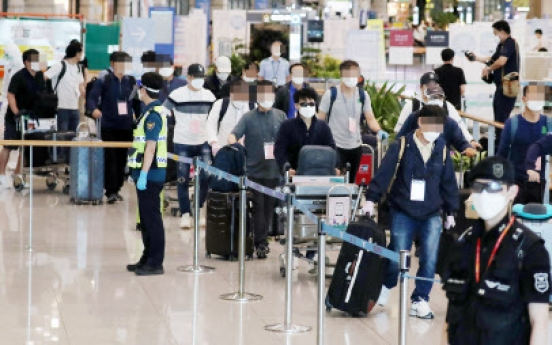 New wave of imported cases strains Korea's fight against COVID-19