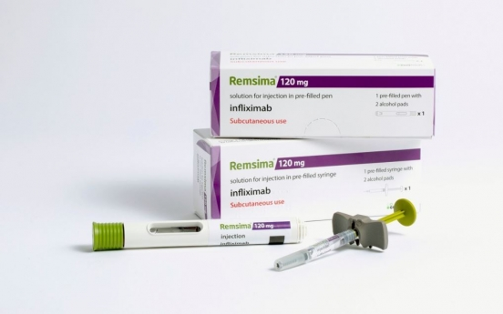 Celltrion's Remsima SC gains IBD indication approval in Europe