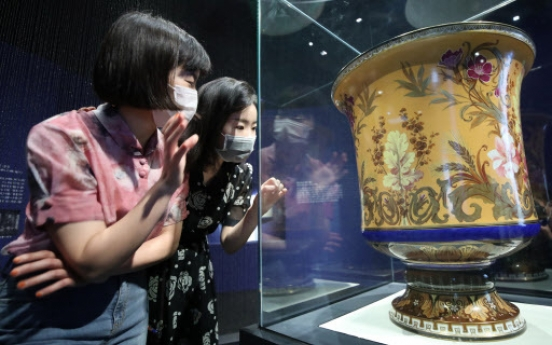 Western chinaware used in Joseon royal court on show