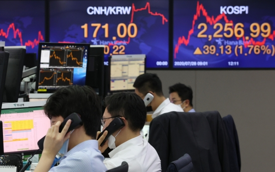 S. Korean stocks rally on stimulus hopes, foreign buying at 7-year high