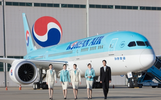 Korean Air named world's third-best airline by TripAdvisor