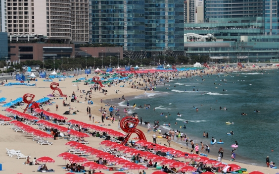 No. of beach visitors halves over June-July amid virus pandemic