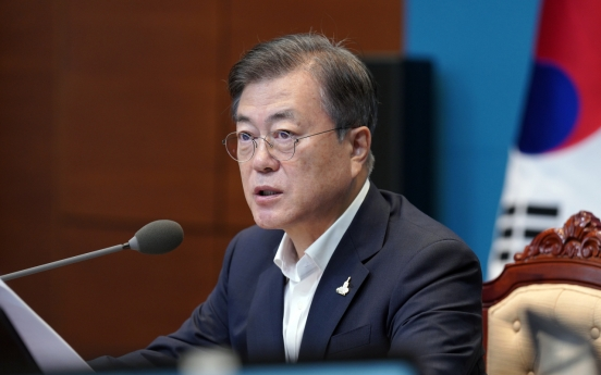 Moon urges continued efforts for 'complete missile sovereignty'