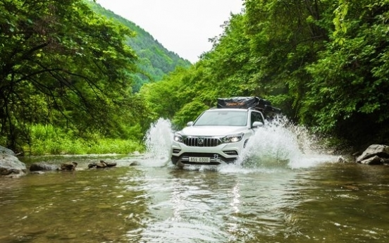 [Behind the Wheel] SsangYong's Rexton Sports Dynamic Edition shows off strength off-road