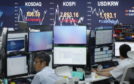 Seoul stocks up for 3rd session on strong Samsung performance, foreign buying