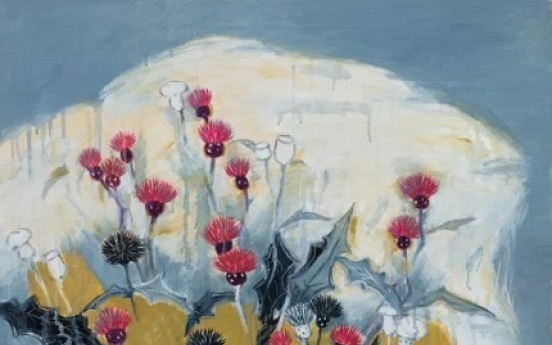 [Herald Interview] Wild flowers the love of 94-year-old painter