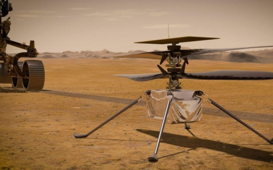 NASA launches Mars rover to look for signs of ancient life