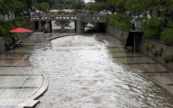 Heavy rain alerts issued for Seoul, central, northern regions