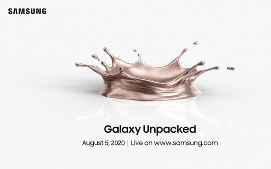 Samsung to hold first-ever online 'Unpacked' on Wednesday