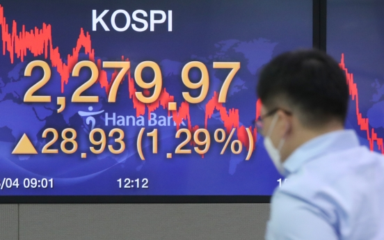 Kospi notches record high for 2020 amid economic rebound hopes