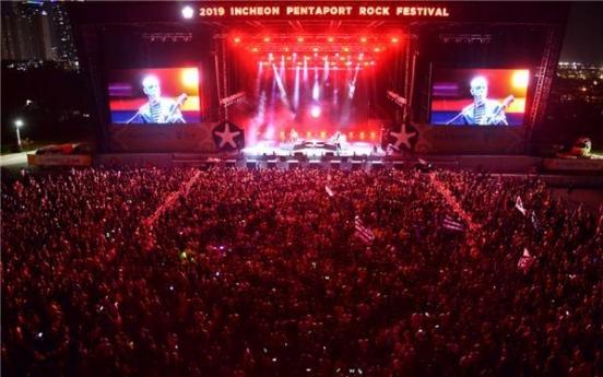 Pentaport Rock Festival to be held Oct. 16-17 both on, offline