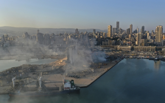 No South Korean casualties reported in Beirut explosion
