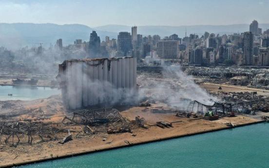 Moon expresses condolences over deadly Beirut explosion
