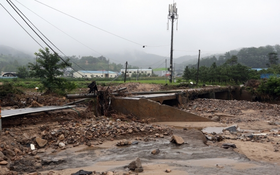 Death toll rises to 16 as heavy rainfall continues