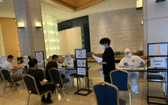 [From the scene] Korea's quarantine hotel is 'contagion-free'