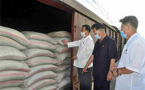 N. Korea sends relief supplies to Kaesong under virus lockdown