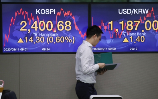 Seoul stocks open sharply higher on gains in techs, chemicals