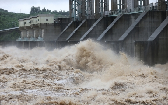 N. Korea's border dam remains partially open amid heavy rains: JCS
