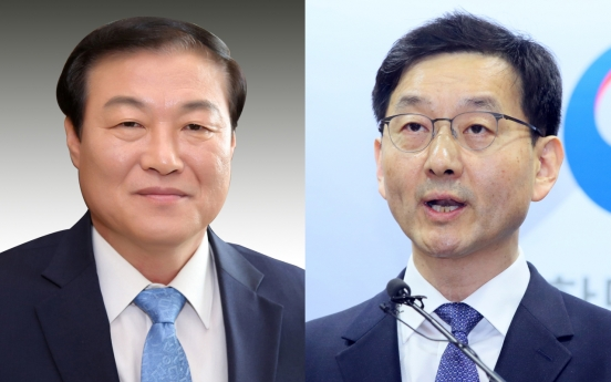 Moon replaces two more senior aides