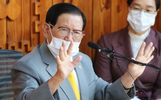 Court rejects Shincheonji leader's request to cancel arrest