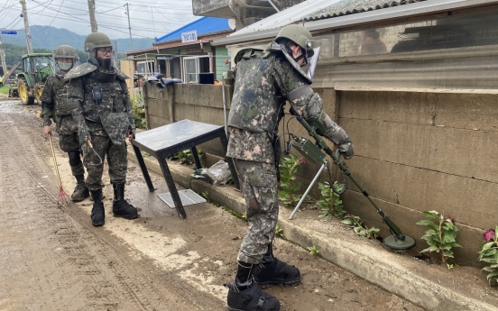 Military to expand mine removal operations next week