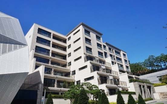 Hannam The Hill holds the fort as top-priced apartment in S. Korea