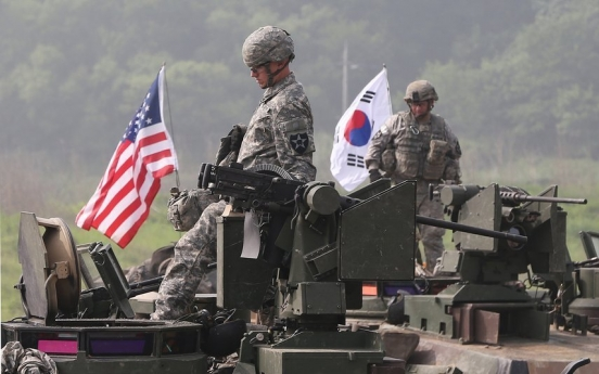 S. Korea, US to stage joint military drills from Tuesday