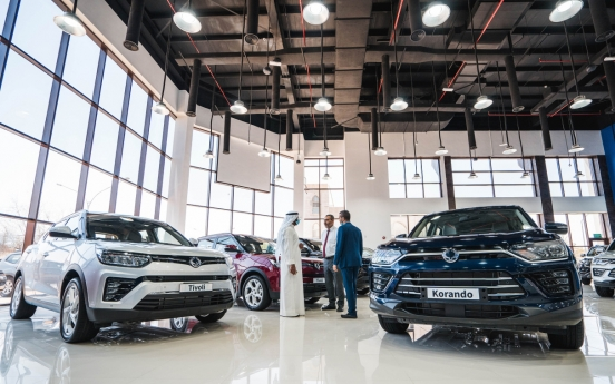 SsangYong Motor reinforces Middle East sales channels