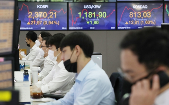 Seoul stocks open sharply higher on Wall Street gains