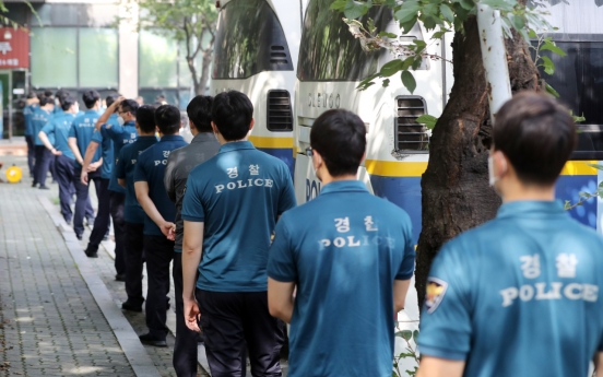 7,600 police tested for COVID-19 after rallies
