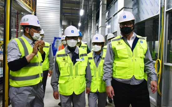 GM Korea CEO visits Changwon plant to monitor facility investment