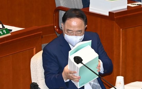 Finance minister hints at offering 2nd round of virus emergency handouts