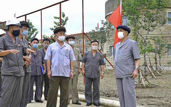N. Korea's No. 3 leader, new premier make rare joint 'field guidance' visit