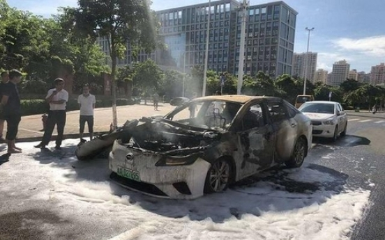 EV fires with Chinese batteries expose technology gap