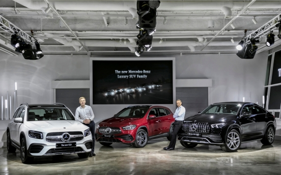 Mercedes-Benz Korea unveils 3 new models of luxury SUV family