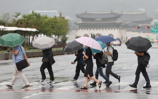 Heavy rain advisory lifted for all of Seoul