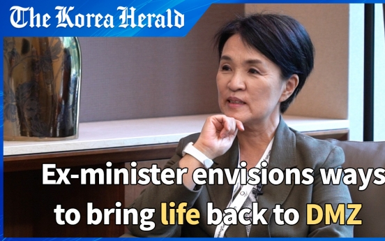 [Herald Interview] Ex-minister Kang Kum-sil envisions peace and life at DMZ