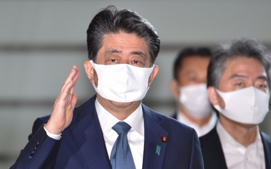 Japan's Abe says he's resigning for health reasons