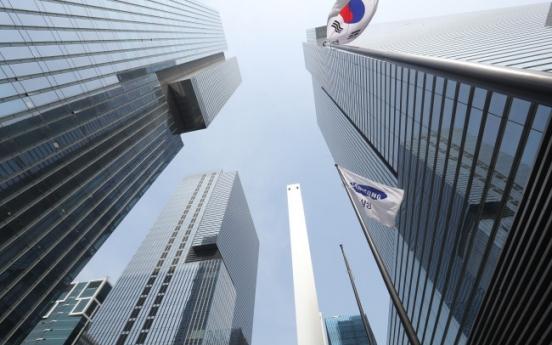 Top 10 Kospi stocks' market cap approaches 45%