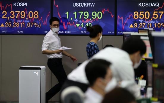 Seoul stocks open sharply higher on economic rebound hopes