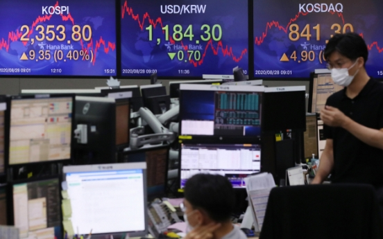 Seoul stocks plunge over 1% on record-high foreign dumping