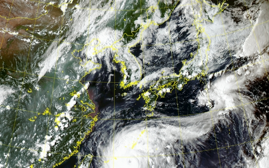 Typhoon Maysak on path to hit Busan early Thursday