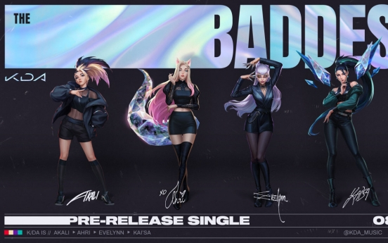 Era of virtual artist: Riot Games' virtual K-pop group K/DA returns